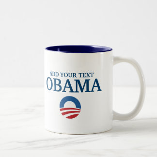 customizeable support obama add your text mugs