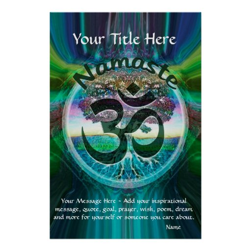 CustomizeABLEs - Namaste Posters
