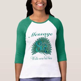 Customized 80 elegant text 80th birthday T-Shirt