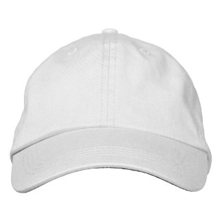 Customized adjustable cap embroidered cap