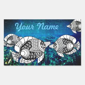 Customized AngelFish Sticker