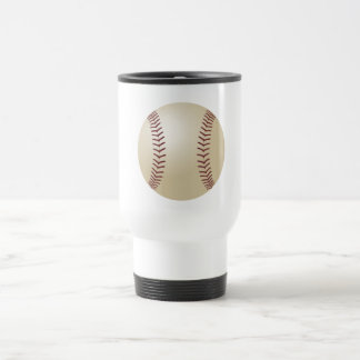 Customized Baseball Travel Mug