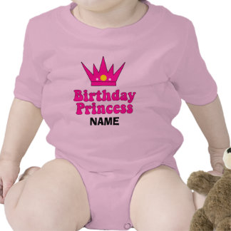 Customized Birthday Princess Romper