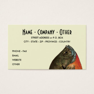 Customized Bluegill Business Card