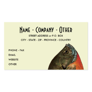 Customized Bluegill Pack Of Standard Business Cards