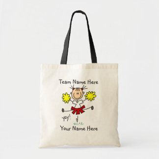 Customized Cheerleader  Tote Bag