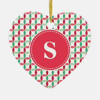 Customized Christmas Modern Pattern Christmas Ornament