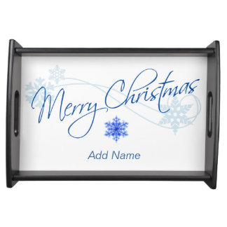 Customized Christmas Serving Tray