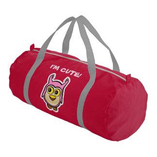 Customized Cute Baby Owl Cartoon Gym Duffel Bag