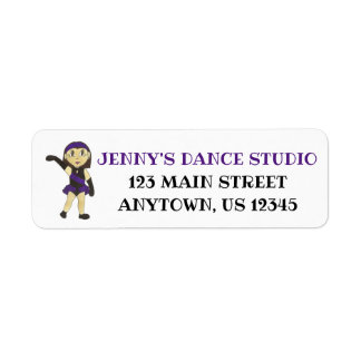 Customized Dance Instructor Jazz Teacher Studio