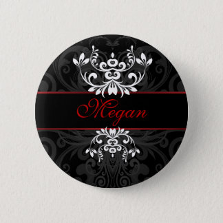 Customized Dark Elegance 6 Cm Round Badge