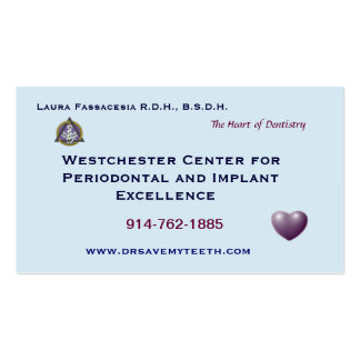 Customized Dental Business Card
