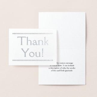 "Customized, Elegant ""Thank You!"" Card"