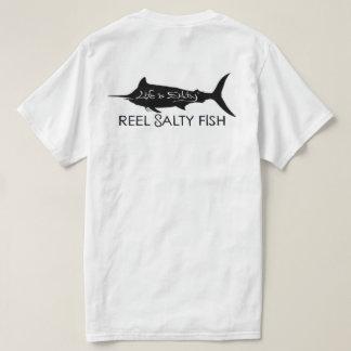 "CUSTOMIZED FISHING SHIRT ""REEL SALTY FISH""🎣"