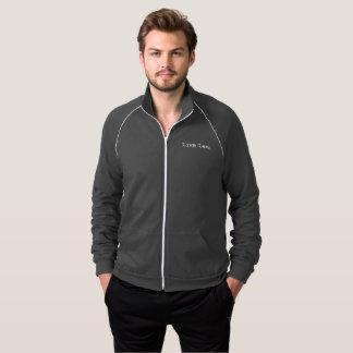 Customized Fleece Track - Live Long Jacket