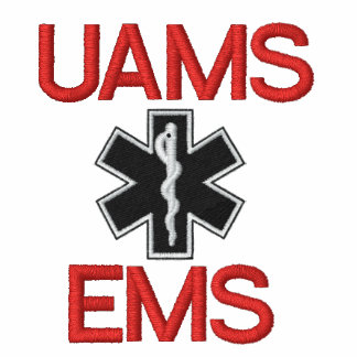 Customized for UAMS paramedic class Embroidered Hoodies