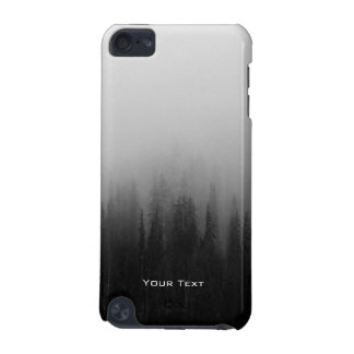 Customized Forest Nature Landscape Scene Foggy iPod Touch 5G Case