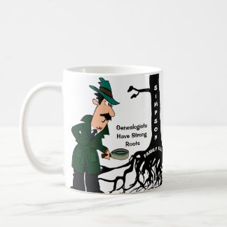 Customized Genealogy Detective Coffee Mug