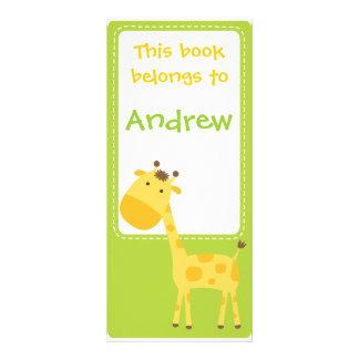 Customized*Giraffe Bookmarks Book 10 Cm X 23 Cm Rack Card