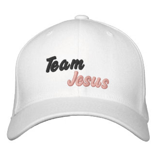 Customized Hat Team Jesus Embroidered Hats
