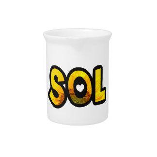 Customized jar Sun