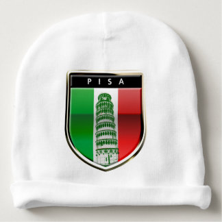 Customized Leaning Tower of Pisa and Pisan Cross Baby Beanie