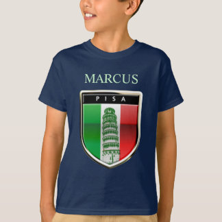 Customized Leaning Tower of Pisa, Italy T-Shirt