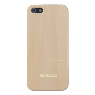 Customized Light Wood 3 iPhone 5 Case