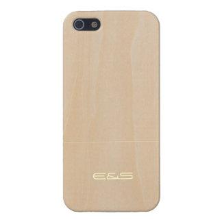 Customized Light Wood 3 iPhone 5 Case