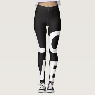 Customized Love Leggings