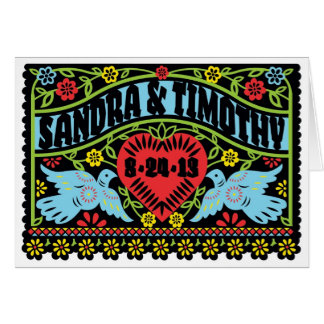 Customized Lovebirds Invitation