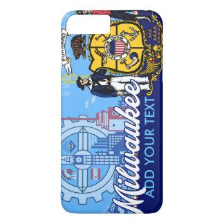 Customized Milwaukee Wisconsin Flag iPhone 7 Plus Case