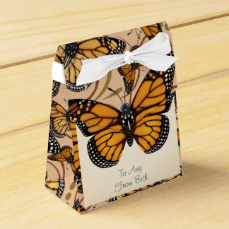 Customized Monarch Butterfly Favour Box