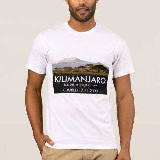 Customized Mount Kilimanjaro Climb Commemorative T-Shirt