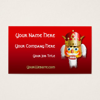 Customized Nutcracker King Cartoon