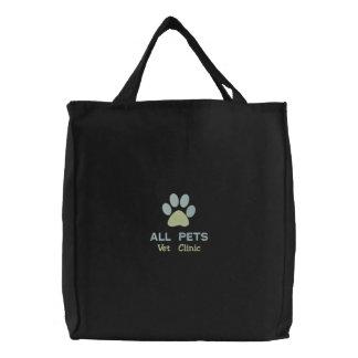 Customized Personalized Animal Hospital Bag