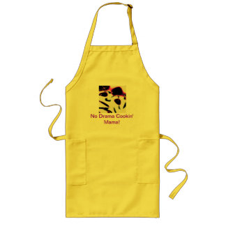 Customized, Personalized Drama line products Long Apron