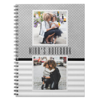 Customized Photo Template Journal/ Spiral Notebook
