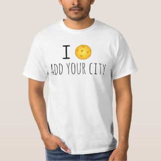 Customized Pickleball T-shirt: Add Your City T-Shirt