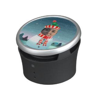 Customized Picture Snowman Cartoon Speaker