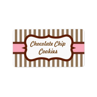Customized Retro Bakery Labels