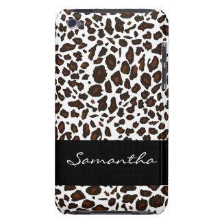 Customized Snow Leopard Animal Print iPod Touch Cases