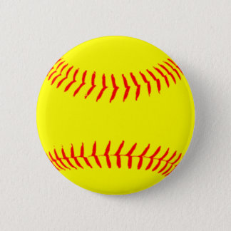 Customized Softball 6 Cm Round Badge