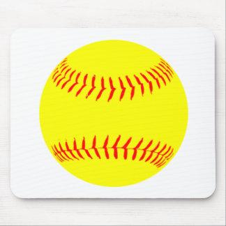 Customized Softball Mouse Pad