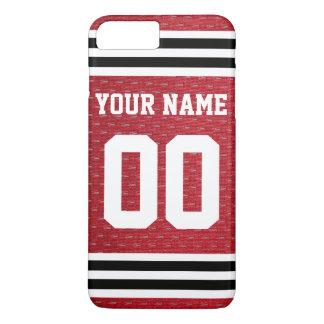 Customized Sports Hockey Jersey iPhone 7 Plus Case