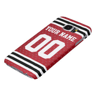Customized Sports Hockey Jersey Samsung Galaxy S6 Cases