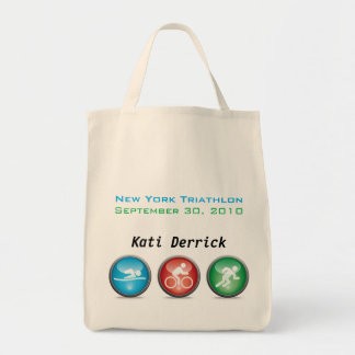 Customized Triathlon Race Day Bag