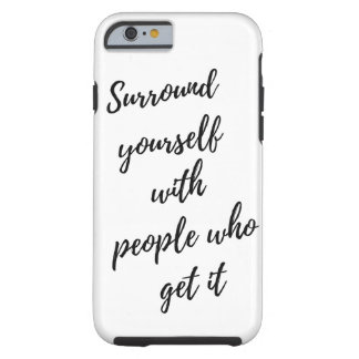 Customized Typography Recovery Quote iPhone cover