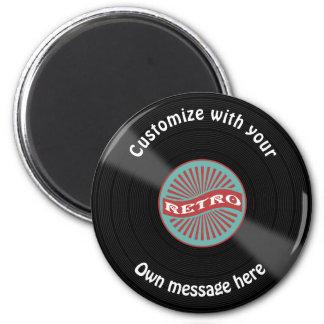 Customized Vinyl Record Magnet