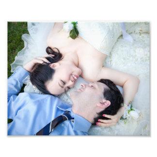 Customized Wedding/Anniversary Portrait Photographic Print